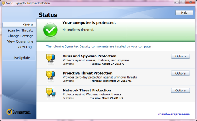 Symantec Endpoint Protection 2